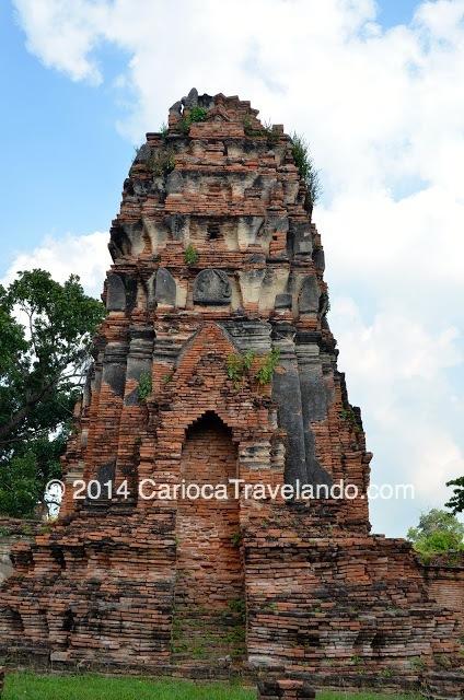 Ruínas do Wat Mahatat