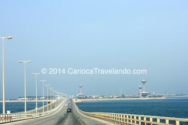 Ponte que liga Arábia Saudita à Bahrain