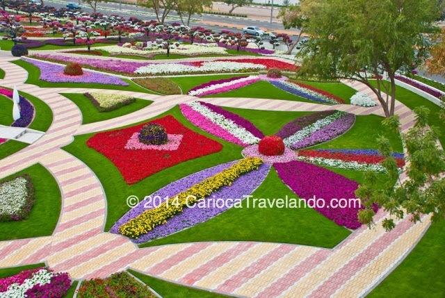 Jardim Paraíso em Al Ain