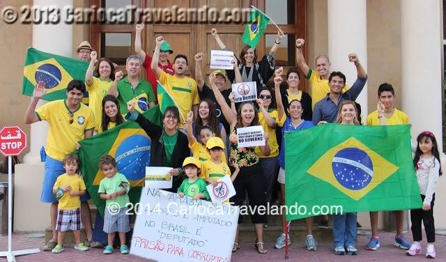 Brasileiros nas Arábias: queremos um NOVO BRASIL