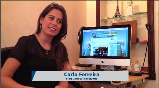 Carioca Travelando na mídia: TV Brasil Internacional