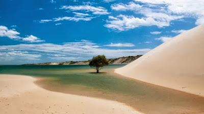 Galinhos: um dos paraísos do nosso Brasil
