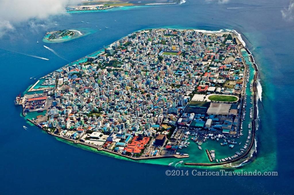 A Capital das Maldivas: Male