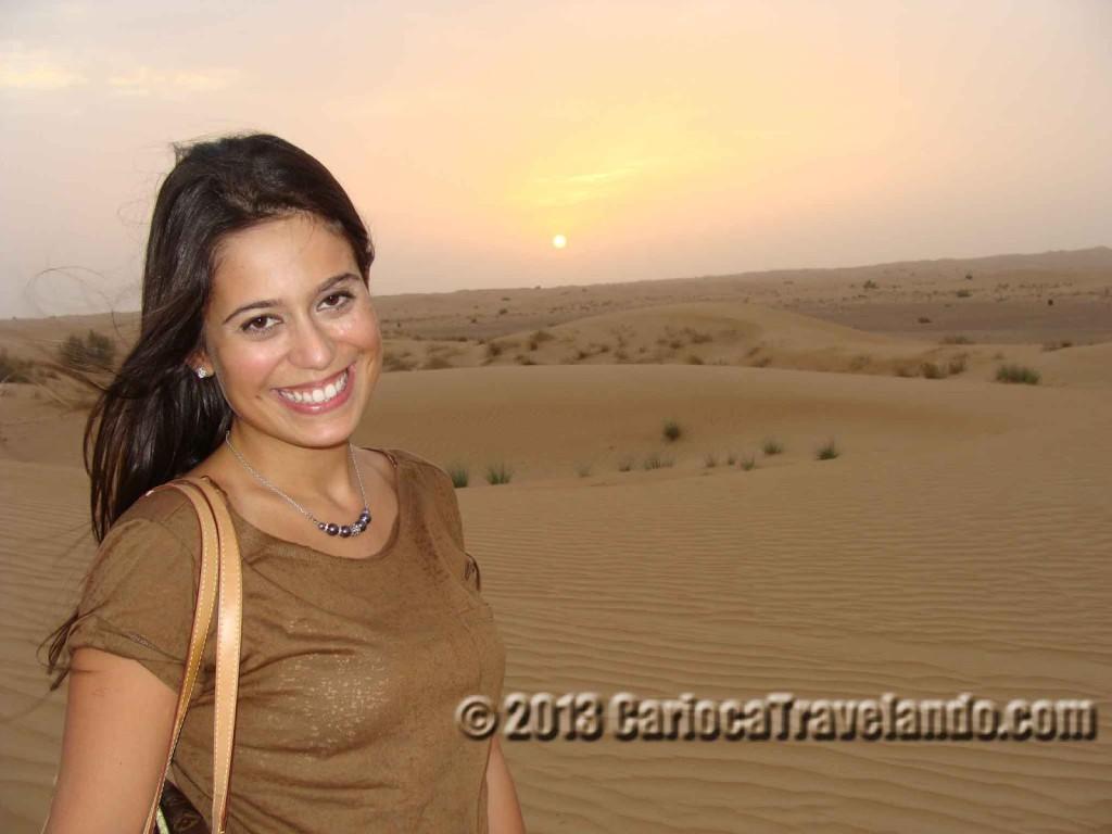 Pôr do Sol de Dubai… Bravo!