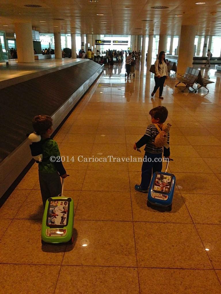 Aeroporto meninos