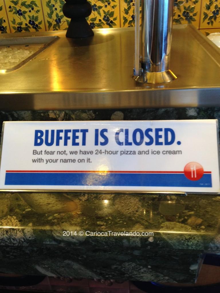 Buffet cruzeiro