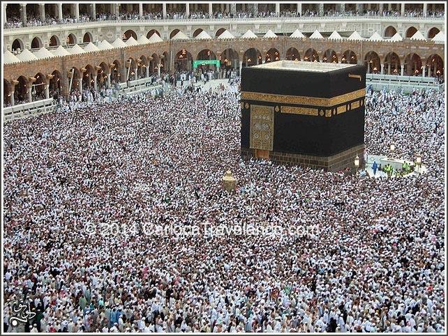 Mecca: lugar sagrado para os seguidores do Islã – apenas muçulmanos podem visitar