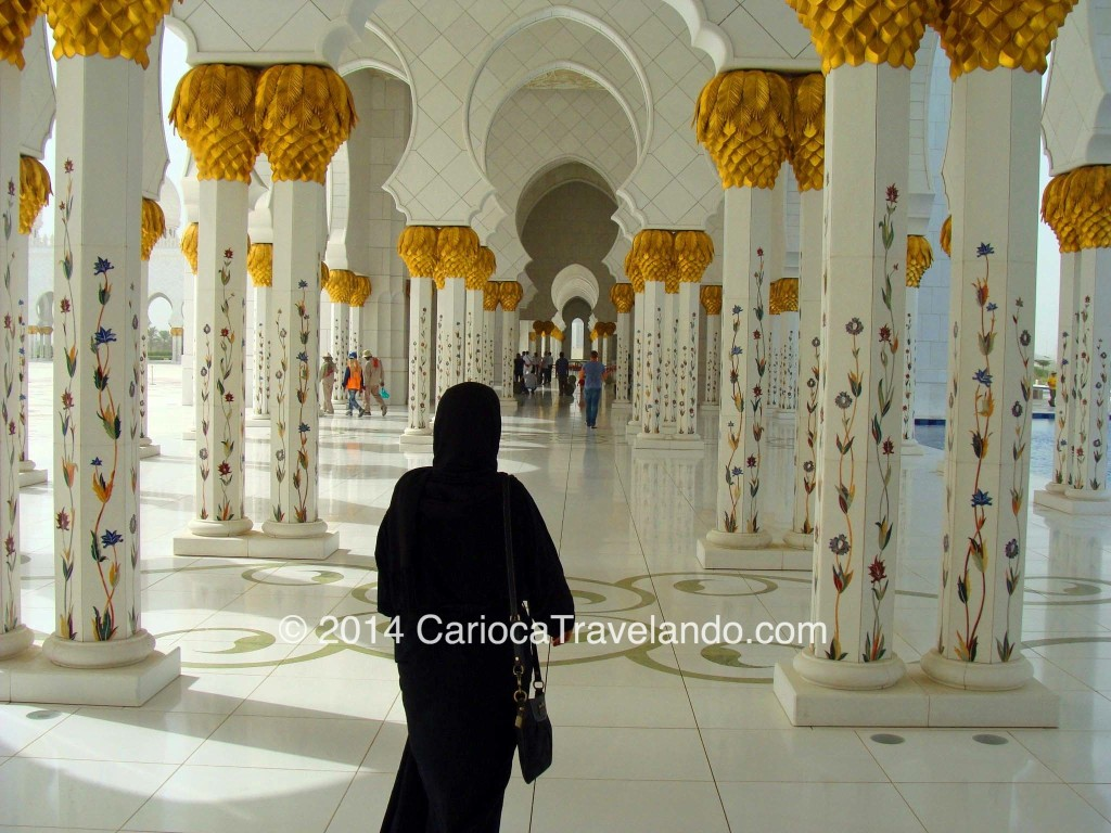 Grande Mesquita em Abu Dhabi