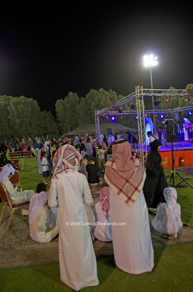 Uma noite beduína na Arábia Saudita