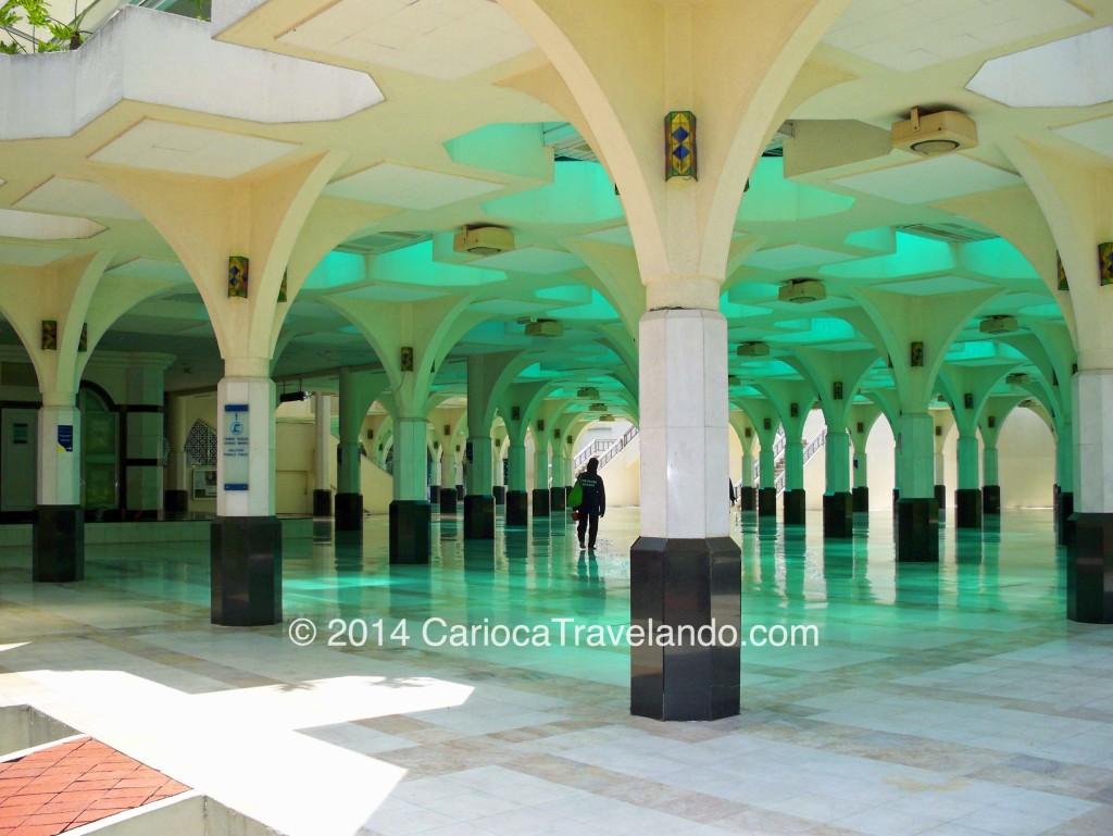 Mesquita Masjid As-Syakirin em Kuala Lumpur, Malásia