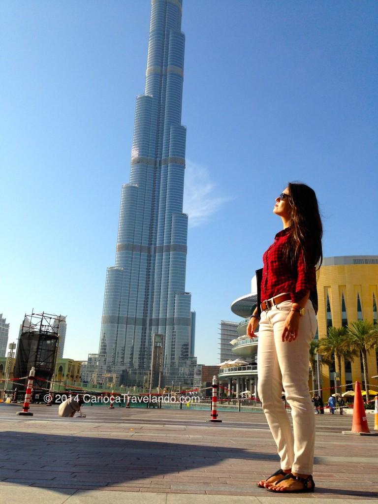 O maior do mundo: o Burj Khalifa em Dubai