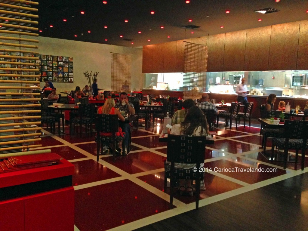 Restaurante ASIA - claro, comida asiática que eu sou apaixonada