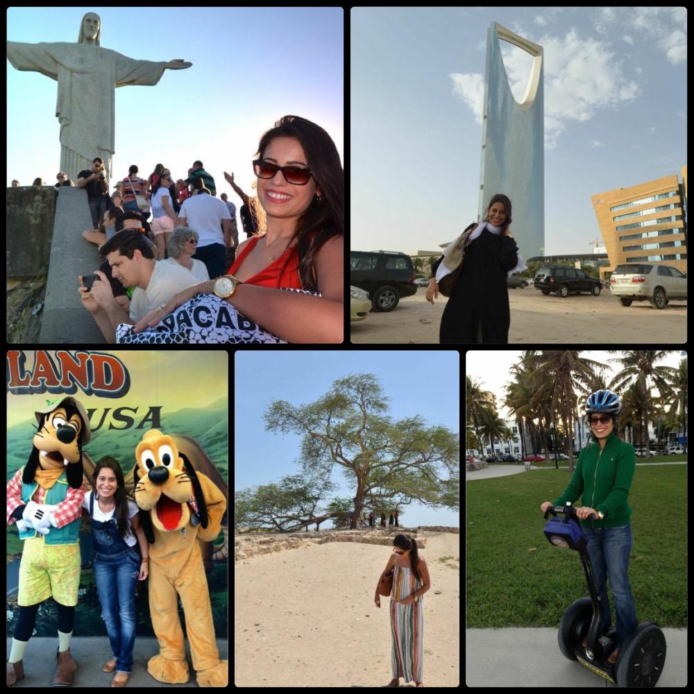 2014 de aventuras: Rio, Riade, Orlando, Bahrein e Miami