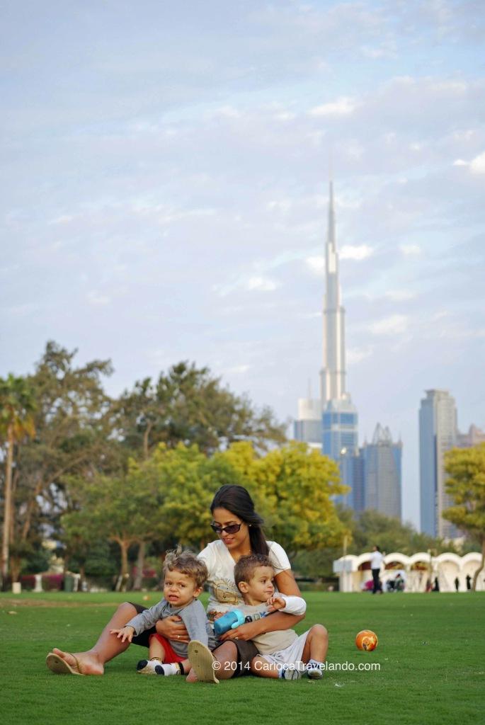 Bagunça no Al Safa Park