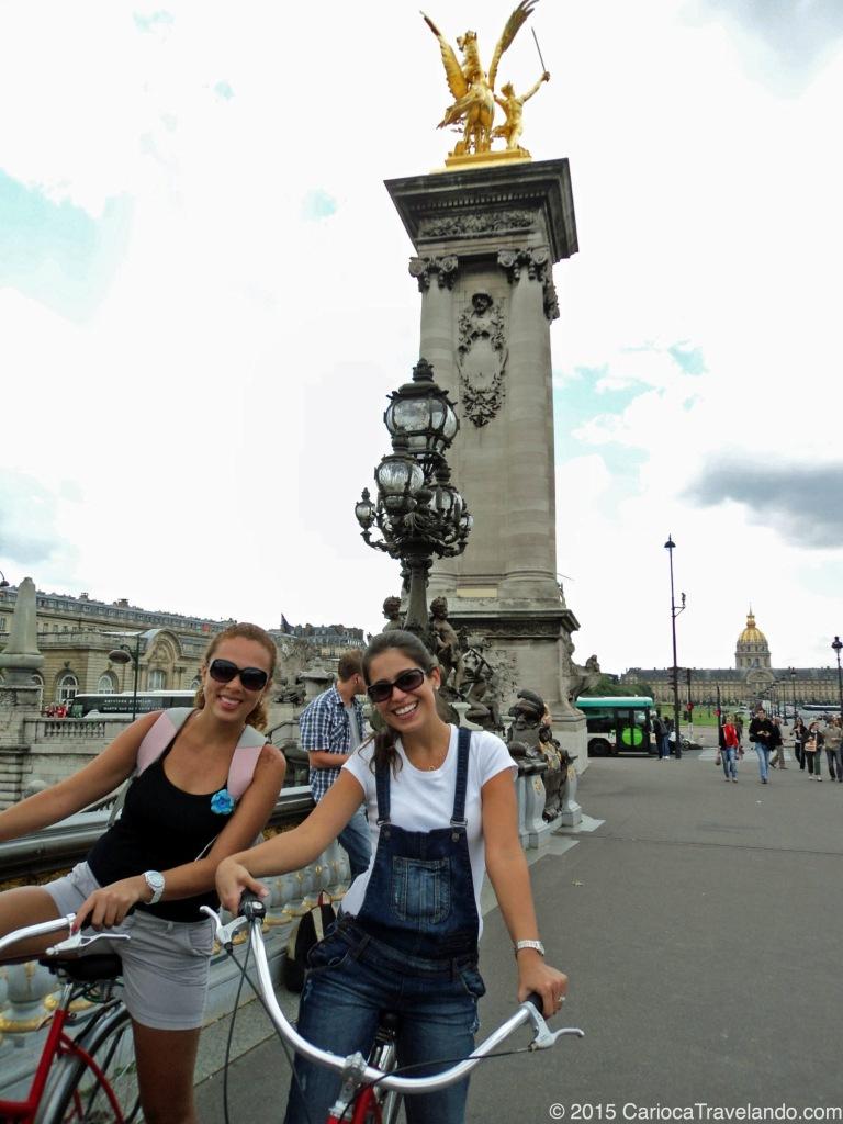 Tem como não sorrir em Paris? :)