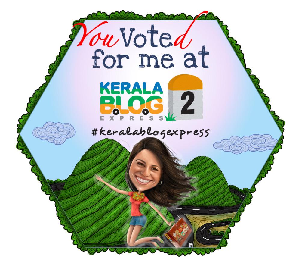 Você votou em mim :)