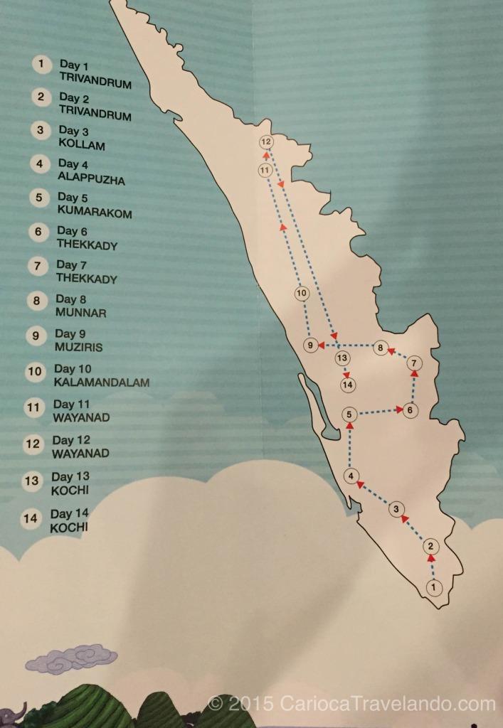 14 dias, 10 paradas, 10 hotéis e muita, mais muita aventura!