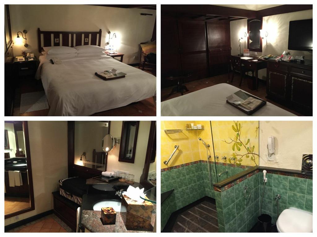 Detalhes do quarto e do banheiro