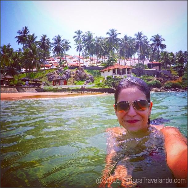 Primeiro selfie em Kerala foi dentro do mar