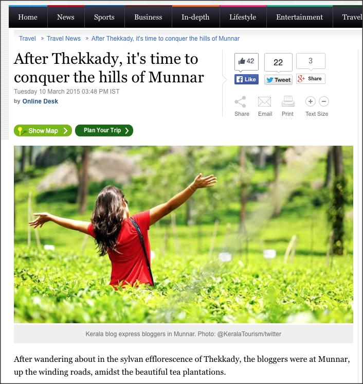 Absolutamente encantada com a plantação de chá em Munnar, Kerala
