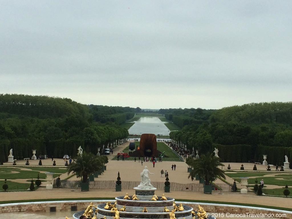 Os jardins do Palácio de Versalhes