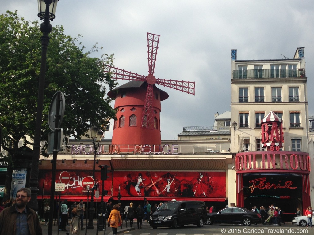 Primeira parada do walking tour em Montmartre - esse é pago