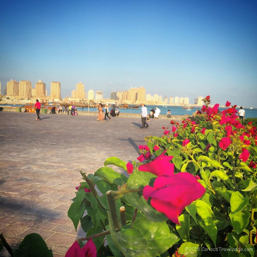 O belíssimo Katara em Doha