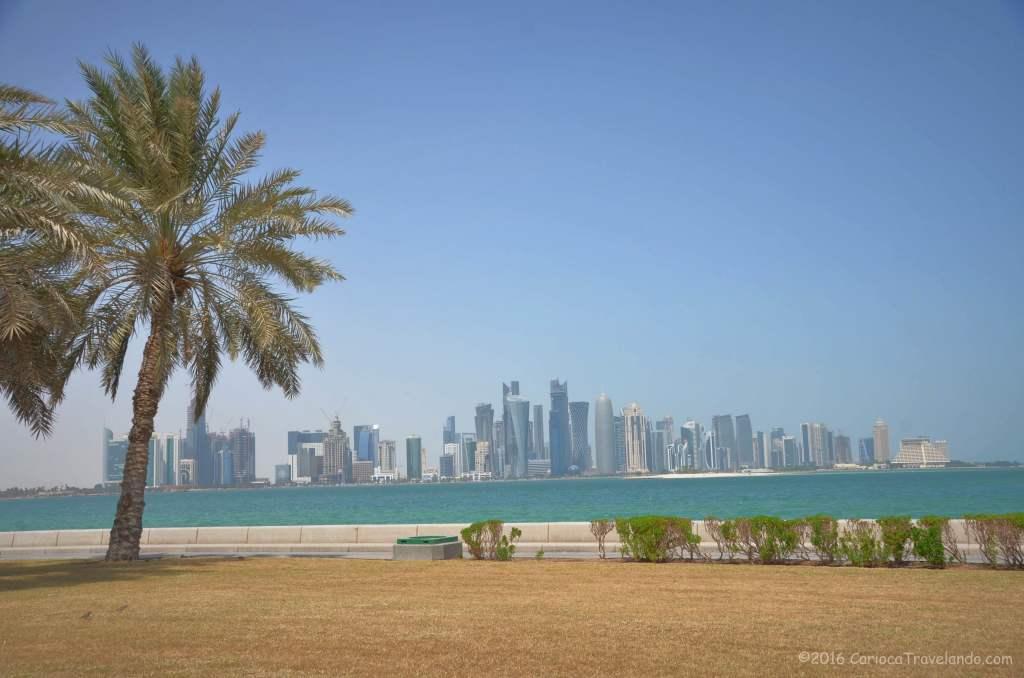 Cartão postal de Doha
