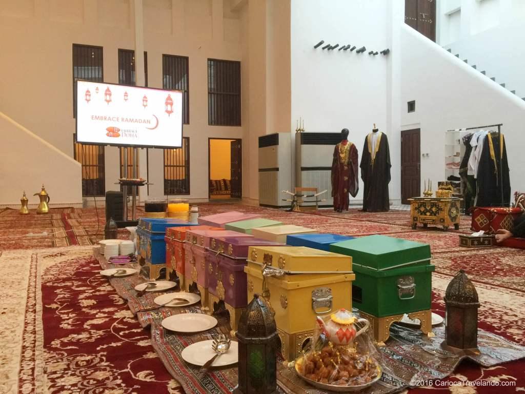 Tudo pronto para começar o Embrace Doha - Ramadan.