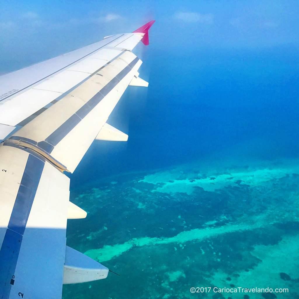 Chegando em Zanzibar... aquele momento que toda a família diz U-A-U